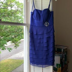 Jessica Howard Cobalt Blue Dress | 10